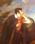 Adam Mickiewicz - Lieblingspoet der Polen (Gemälde im Nationalmuseum).
