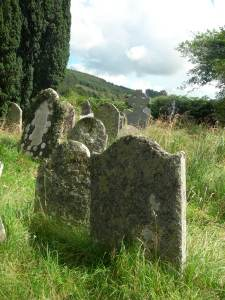 Morbider Charme in Glendalough - dem Ort der zwei Seenn