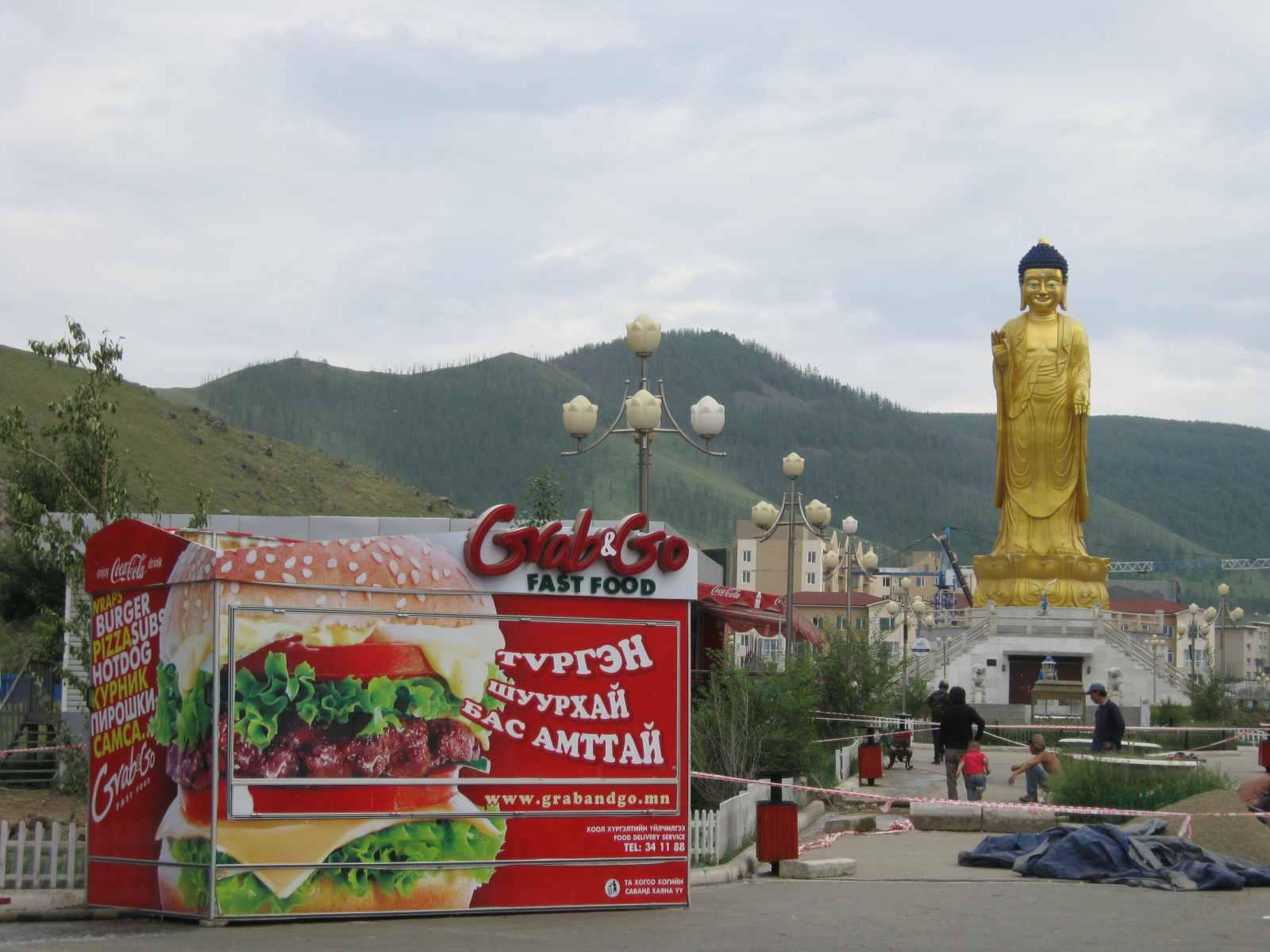 Ulan Bator – die Stadt schwankt zwischen Kitsch und Kultur...