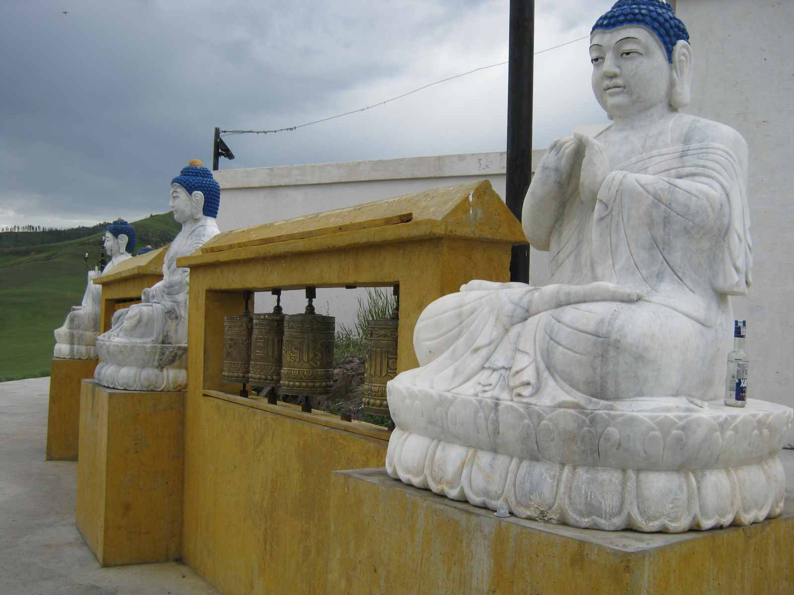 Buddhastatuen der Klosteranlage Amarbajasgalant