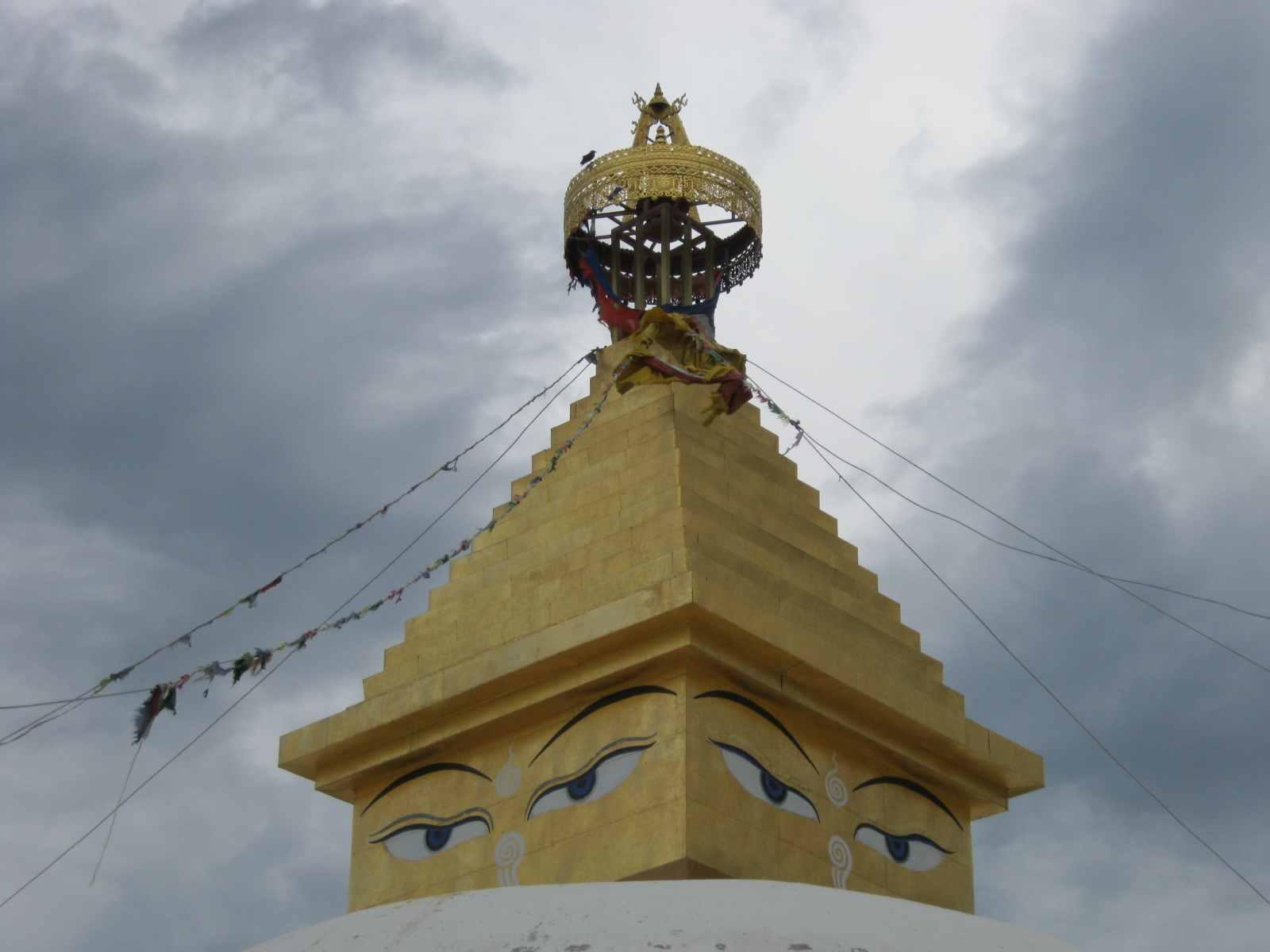 Die Klosteranlage Amarbajasgalant, zweitgrößtes Kloster in der Mongolei. Die kulturelle Nähe zu Tibet ist unverkennbar