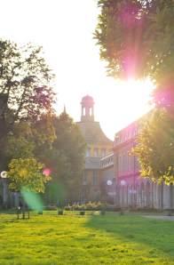 Spätsommerstimmung an der Bonner Universität