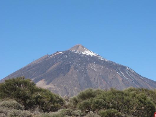 Der Teide: Spaniens höchster Berg mit knapp 3700 Metern.